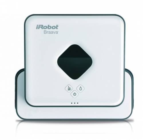 irobot braava 390 turbo automatyczny robot myj cy mopuj cy pod ogi. Black Bedroom Furniture Sets. Home Design Ideas