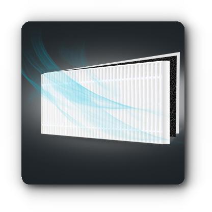 Moneual MBOT 900 - system filtracji powietrza