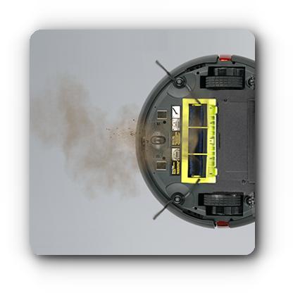 Tryb odkurzania - Moneual ME775 Style