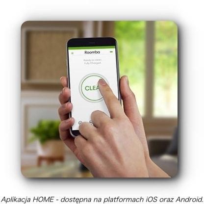 Aplikacja iRobot HOME Roomba 891