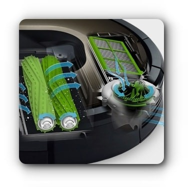 Technologia AeroForce iRobot Roomba 891