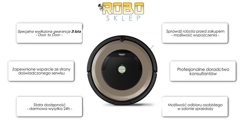 iRobot Roomba 896 RoboSklep