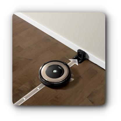 Powrót do stacji iRobot Roomba 891