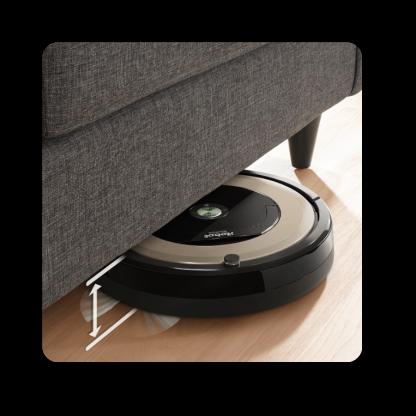 Wjazd pod meble i łóżka iRobot Roomba 891