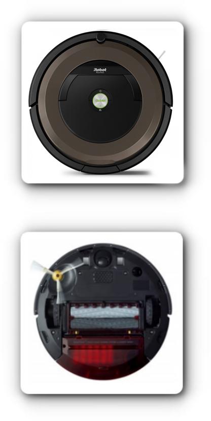 Dane techniczne iRobot Roomba 896