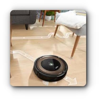 Technologia iAdapt iRobot Roomba 896