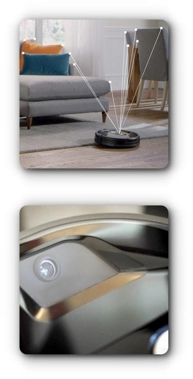 Nawigacja optyczna - iRobot Roomba