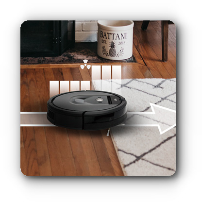 Technologia Carpet Boost - iRobot Roomba
