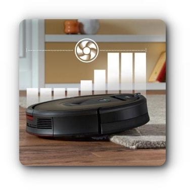 Technologia Carpet Boost - iRobot Roomba